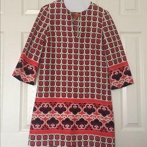 Tori Burch silk sheath dress